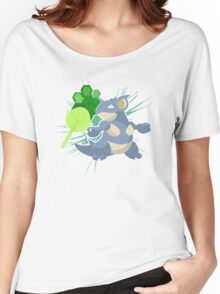Earth Badge Nidoqueen Women's Relaxed Fit T-Shirt