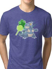 Earth Badge Nidoqueen Tri-blend T-Shirt