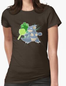 Earth Badge Nidoqueen Womens Fitted T-Shirt