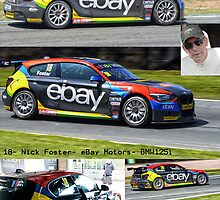 Nick Foster- BTCC by Matt Eagles