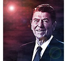 President Ronald Reagan Photographic Print