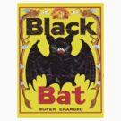 BIG BLACK BAT by sashakeen