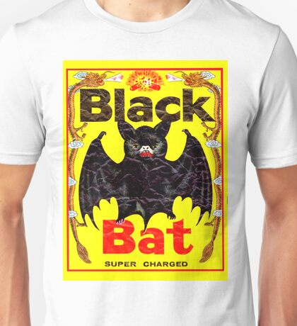 BIG BLACK BAT Unisex T-Shirt