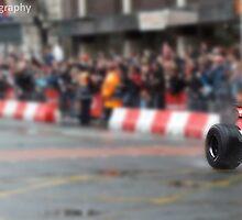 Jenson Button- Deansgate, Manchester by Matt Eagles