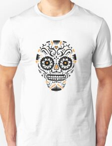 Sugar Skull SF -  on white T-Shirt
