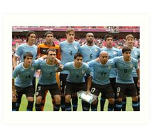 Uruguay - London 2012 Olympics  Art Print