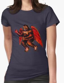 Holy Flying Kong! Womens Fitted T-Shirt