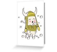 Literal Soap Opera Greeting Card