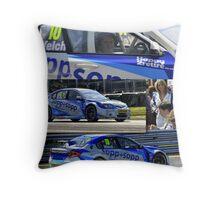 Dan Welch- BTCC Throw Pillow