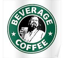 Lebowski Starbucks Poster