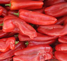Red Peppers by GysWorks