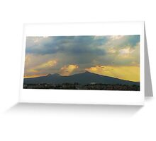 ©HCS Helicopter Path Greeting Card