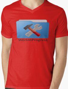 Work In Progress Mens V-Neck T-Shirt