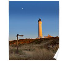 LOSSIEMOUTH - COVESEA LIGHTHOUSE LAST RAYS Poster