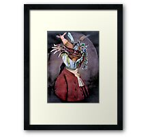 Jewel Thief (clr version.) Framed Print