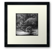 ©HCS The Rain Cloud In Monochrome Framed Print