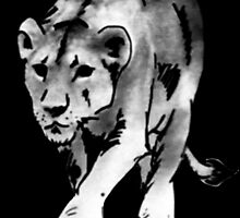 lioness t-shirt by parko