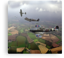 Spitfire sweep Canvas Print