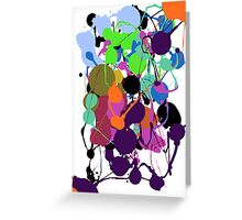Pollock #1 Greeting Card