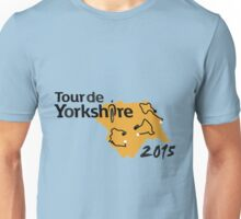 Tour de Yorkshire 2015 Route Unisex T-Shirt