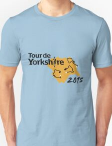 Tour de Yorkshire 2015 Route T-Shirt