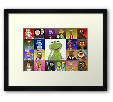 The Muppets Framed Print