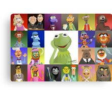 The Muppets Metal Print
