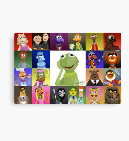 The Muppets Canvas Print