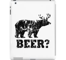 Beer? (Alter. Version) iPad Case/Skin