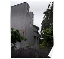 House For An Art Lover, Side Elevation Poster