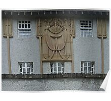House For An Art Lover, Architectural Decoration Poster