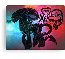My Little Xenomorph Print Canvas Print