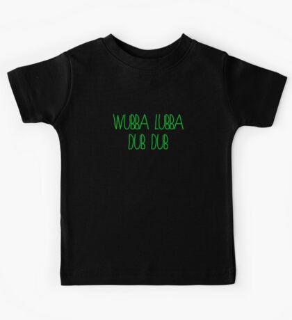 Wubba Lubba  Kids Tee