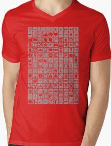Icons Mens V-Neck T-Shirt