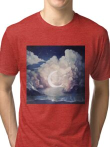 upon the sky-foam. Tri-blend T-Shirt