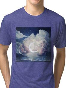 upon the sky-foam. Tri-blend T-Shirt