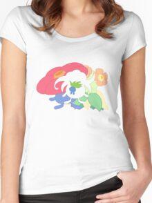 Oddish - Gloom - Vileplume + Bellossom Women's Fitted Scoop T-Shirt