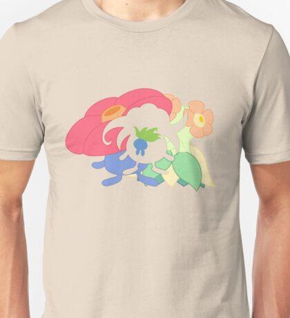 Oddish - Gloom - Vileplume + Bellossom T-Shirt