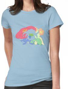 Oddish - Gloom - Vileplume + Bellossom Womens Fitted T-Shirt