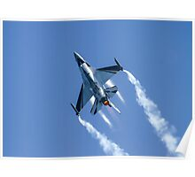 Belgian F16 Fighting Falcon Poster