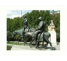 El ingenioso Hidalgo,Dn. Quijote de la Mancha............... Art Print