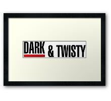 Grey's Anatomy -  Dark & Twisty Framed Print