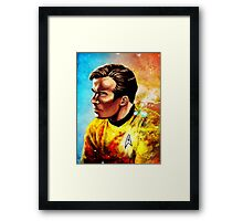 Starship Captain Framed Print