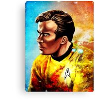 Starship Captain Canvas Print