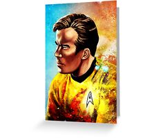 Starship Captain Greeting Card