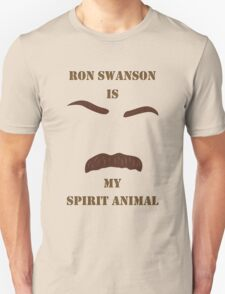 Ron Swanson is my Spirit Animal T-Shirt