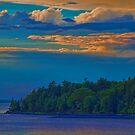 USA. Maine. Acadia National Park. Sunset. by vadim19
