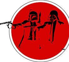 Star wars Pulp Fiction by Edward Martinez
