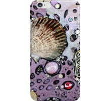 Lilac Seafoam Shell iphone ipod Cover iPhone Case/Skin