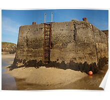 Harbour Walls Poster